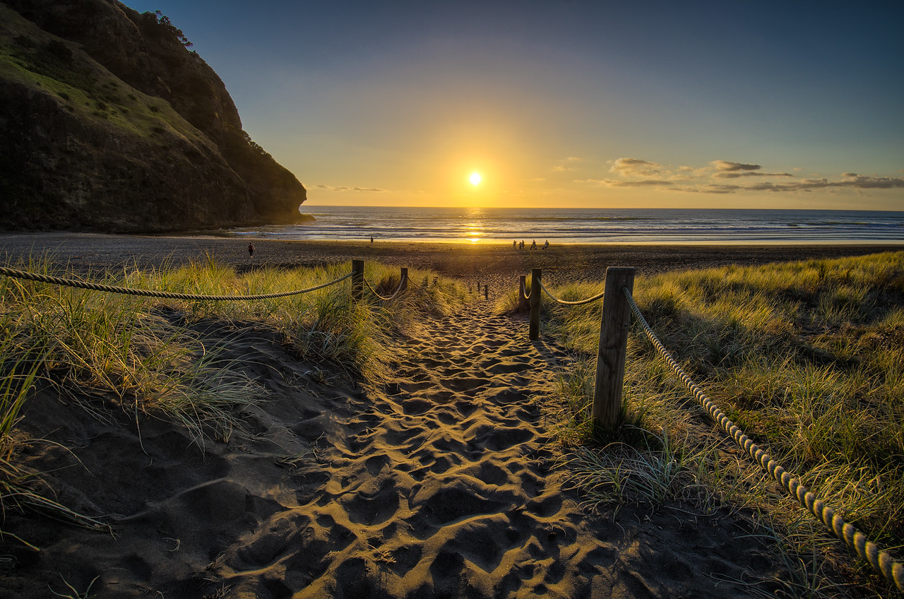 Piha Sunset 2