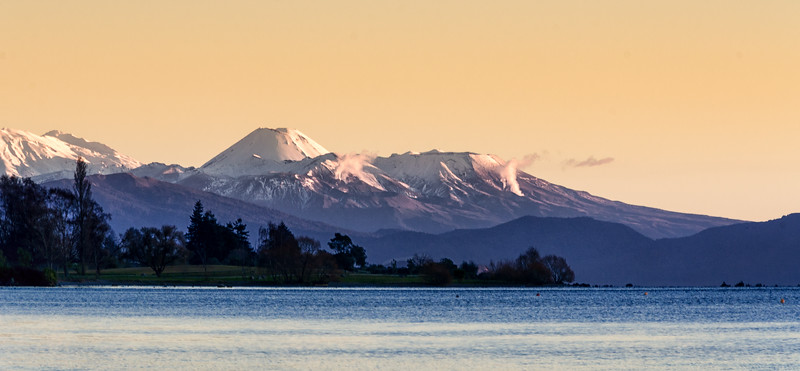 Mountains, Taupo