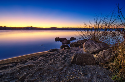 Lake Taupo - dusk