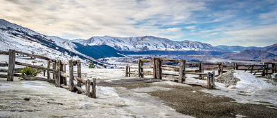 From the road to Coronet Peak, Queenstown, New Zealand