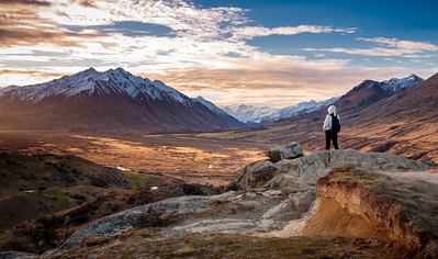 Erewhon from Mount Sunday (Edoras)