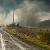 The metal road