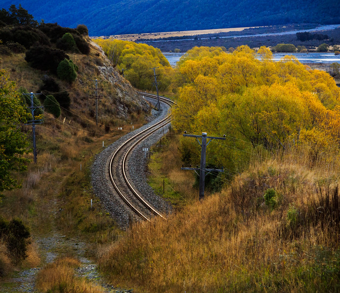 Near Mt White bridge, Arthurs Pass National Park