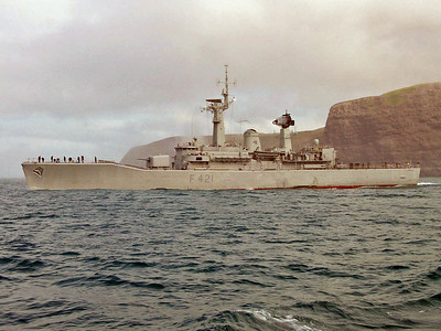 HMNZS Canterbury Last Visit