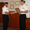Andrew Flex receives an MCC Commendation from Commodore Jack Steer