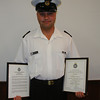 Andrew Fleck with his MCC Commendation
