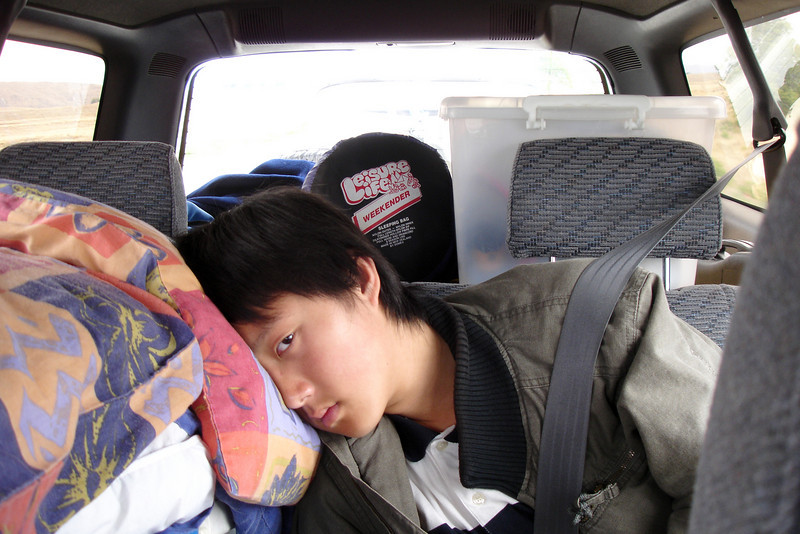 It was a long trip...