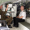 A soldier shows me the ins & outs of a LAV