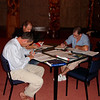 Chris, Tom & Laurie hard at work