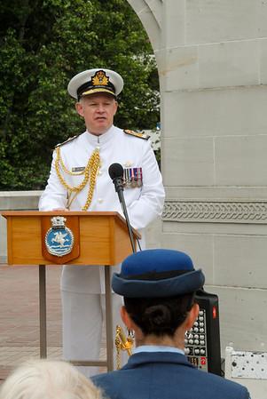 Naval Memorial Service 2008