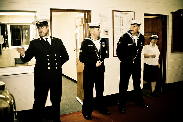 Admiral Ledson Farewell