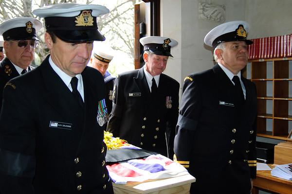 Chaplain Hadlow's Funeral
