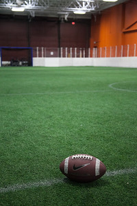 Football on field 1
