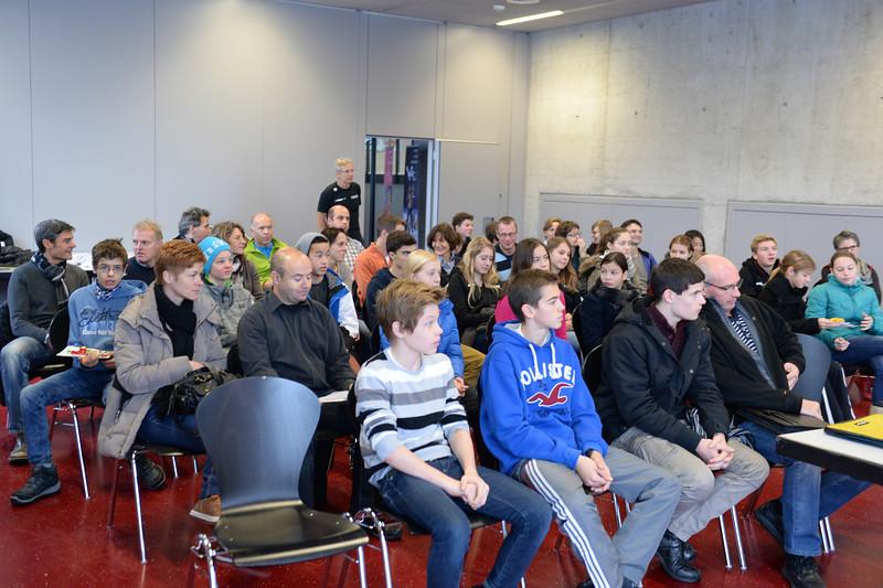 Kickoff Nachwuchs- und Regiokader Deutschweiz, Wallisellen, 30.11.2013