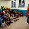 Andres Iniesta visita los programas de Save The Children contra la pobreza infantil en Barcelona
