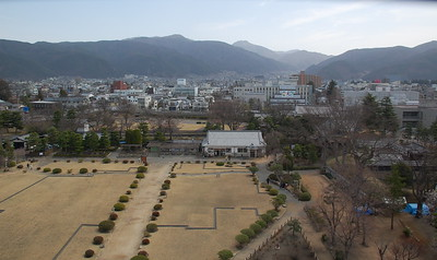 View from Matsumoto Castle