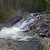 Mehatl Falls - bottom slide