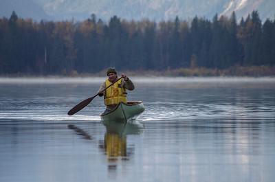 Fall camping on Nahatlach Lake (October 2015)
