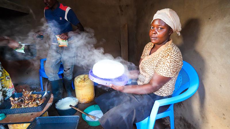 肯尼亚的乡村食品