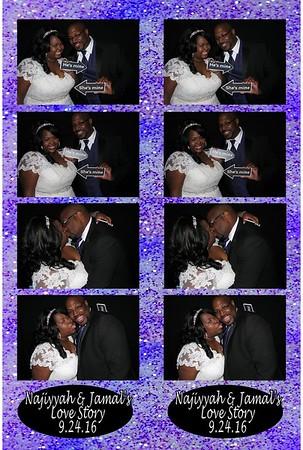Najiyyah and Jamal's Wedding 9-24-16