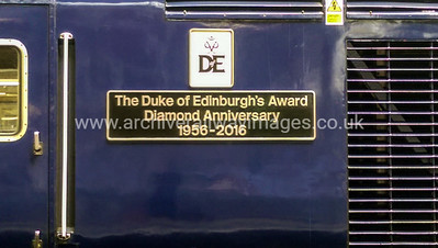 43022 The Duke of Edinburgh's Award Diamond Anniversary 1956-2016 26/5/16 Paddington
