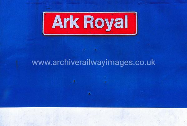 50035 Ark Royal 24/8/90 Laira Depot