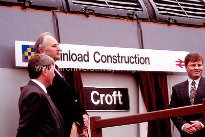 56110 Croft 6/9/92 Leicester Depot