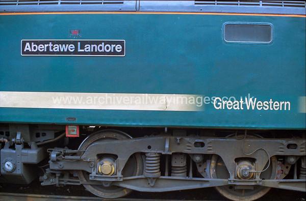 47815 Abertawe Landore 31/8/00 Plymouth