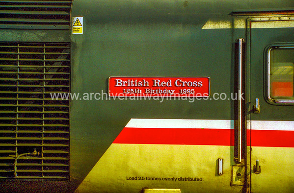 43195 British Red Cross 125th Birthday 1995 9/8/99 Plymouth
