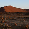 Dunes at sunrise, Sossusvlei, Namib Naukluft National Park