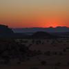 Sunset, Camp Kipwe, Damaraland