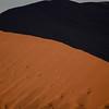 Dunes at sunrise, Sossusvlei, Namib Naukluft National Park
