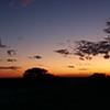 Panorama - Sundowner at Onguma Game Reserve