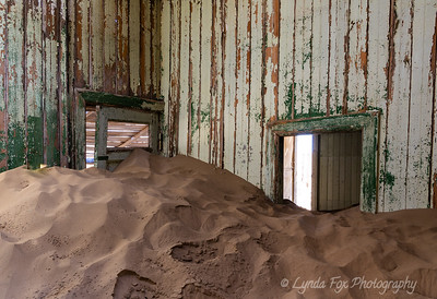Room Blocked with Sand