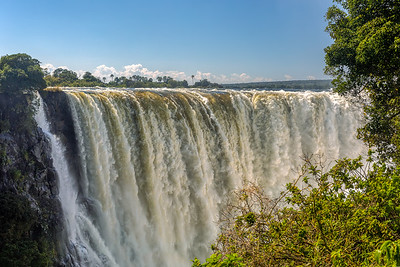 The Victoria falls, Zimbabwe, Africa