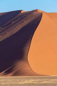 namibia, namib-naukluft np, sossusvlei, landscape, sand dunes