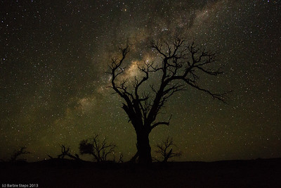 Milky Way in Namibia.