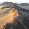 Sunrise balloon ride over Sossusvlei