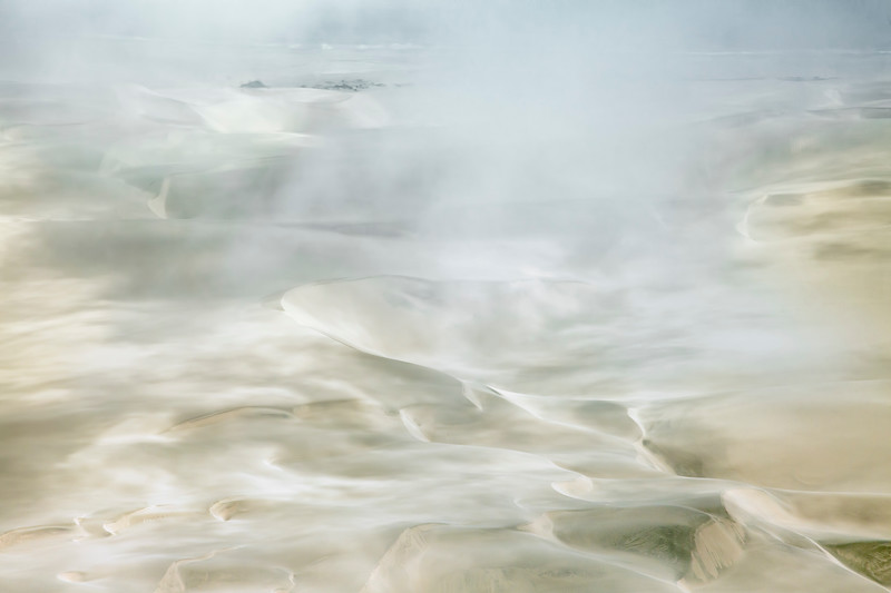 Dunes and Sea and Fog II