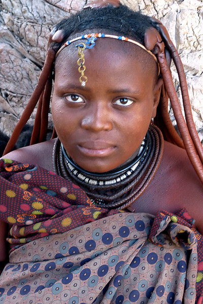 231 Himba girl in Swakopmund