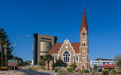 Christus Kirche and Namibian Independence Museum
