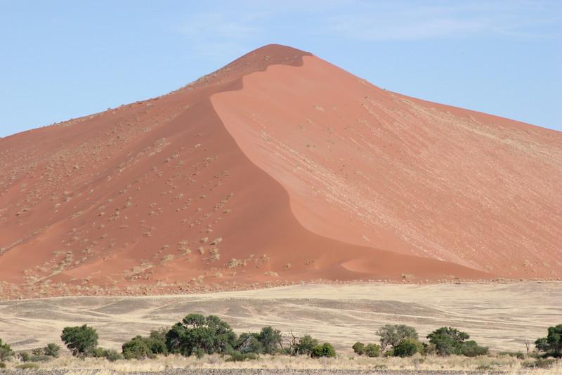 The dunes at and around Sossusvlei