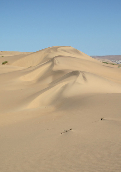 Sand dune near the Angolan border