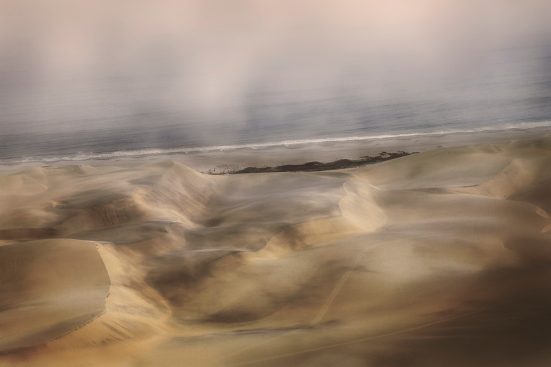 Dunes and Sea and Fog I