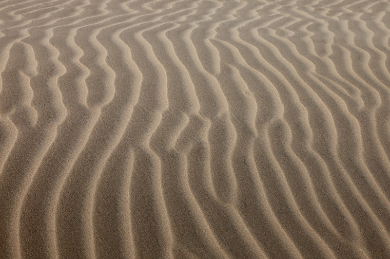Textures in the sand