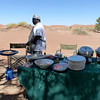 Brunch at Sossusvlei Sand Dunes