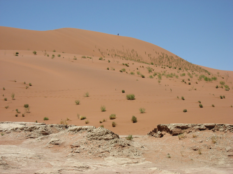 The dunes at and around Sossusvlei