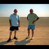 Ivor  and  Me,  in the Etosha  Pan,  Namibia.
