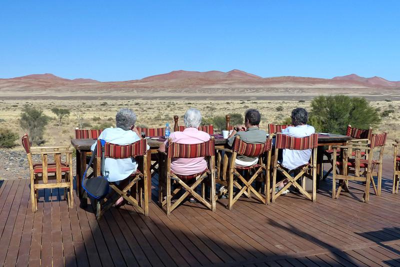 189 Breakfast at Kulala Desert Lodge