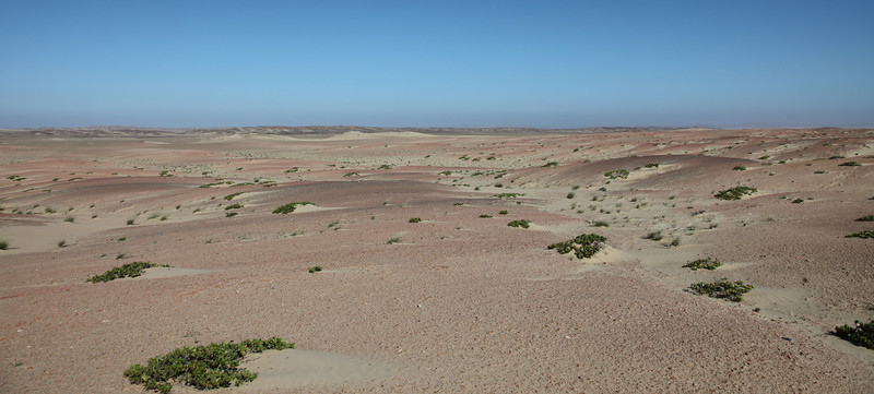 Gravel fields on the Skeleton Coast